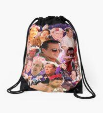 Steve Buscemi Galaxy Collage Drawstring Bag