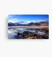 Lochan na h-Achlaise - Black Mount 3a Canvas Print