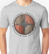 Skeggǫld, Skálmǫld, Skildir ro Klofnir - Vikings Floki quote T-Shirt