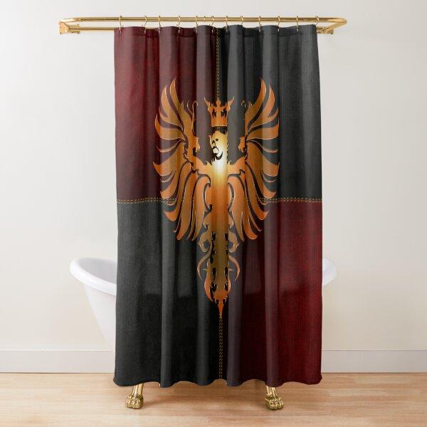 Basilica Corps Shower Curtain