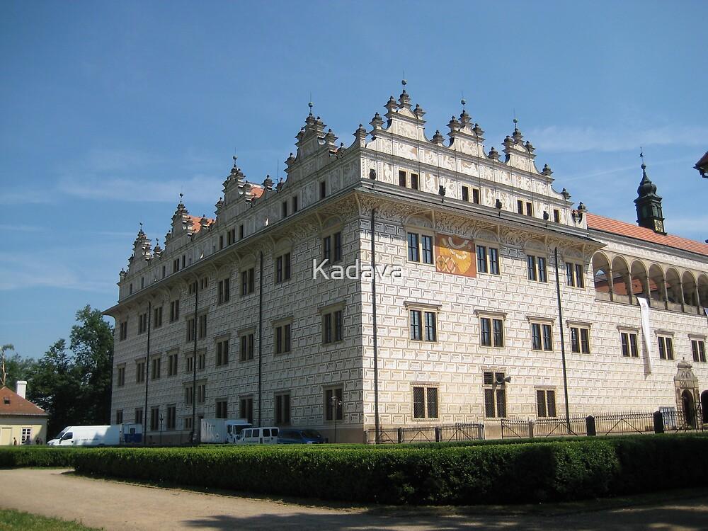 Castle in Litomysl by Kadava