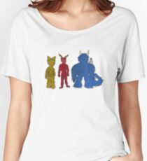 Abandoned Destinies Main Characters Women's Relaxed Fit T-Shirt