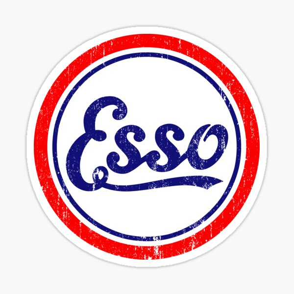 Esso Classique Sticker