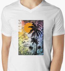 BEACH AND SURF Men's V-Neck T-Shirt