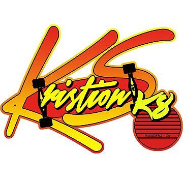 Kristion SK8 - Summer Skate Logo by kassette