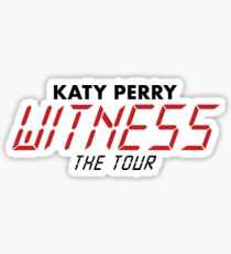 Katy Perry Witness The Tour  Sticker