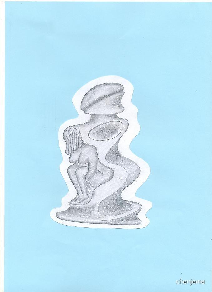 PERFUME BOTTLE DESIGN by chenjema