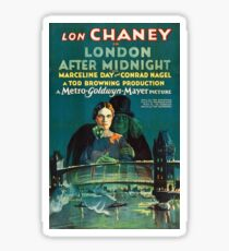 London After Midnight - Lon Chaney. Sticker