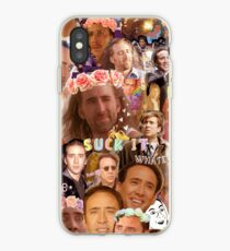 Nic Cage Collage iPhone Case