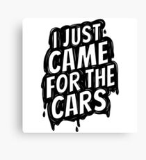 for the cars 2 Canvas Print