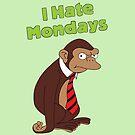 «Odio los lunes» de Ares286