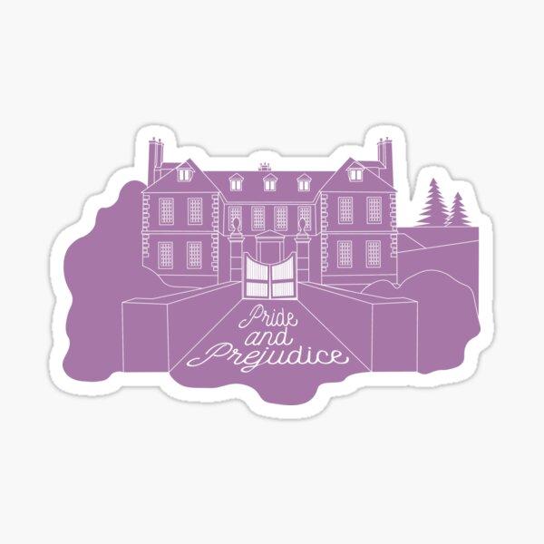 Jane Austen - Pride and Prejudice, Longbourn Sticker