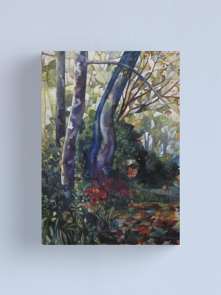 Alternate view of blue plane-tree Canvas Print
