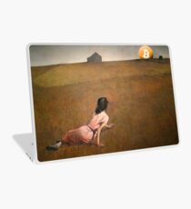Christina's Bitcoin Laptop Skin