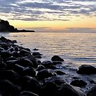 Late evening at the Baltic Sea by jchanders
