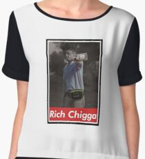 Rich Chigga x Supreme Women's Chiffon Top