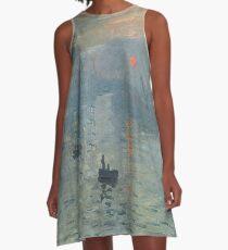 Claude Monet - Impression, Soleil Levant A-Line Dress