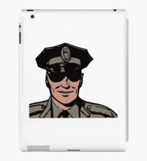 Cop iPad Case/Skin