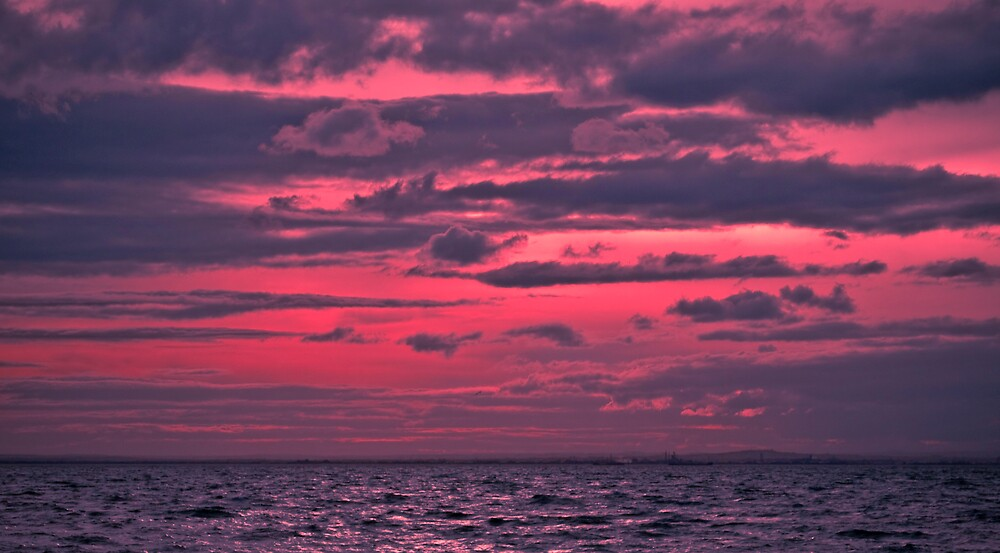 ...And the sky was pink by Matthew Strath