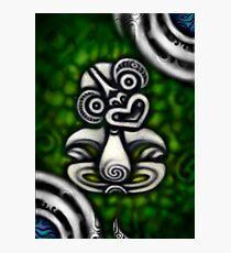 Tiki-By Rangi Matthews Photographic Print