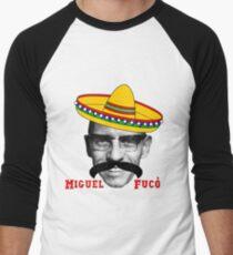 Michel Foucault el mexicano Men's Baseball ¾ T-Shirt