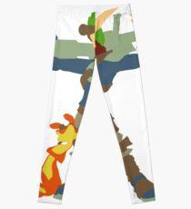 Jak and Daxter - Minimalist Leggings