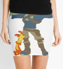 Jak and Daxter - Minimalist Mini Skirt
