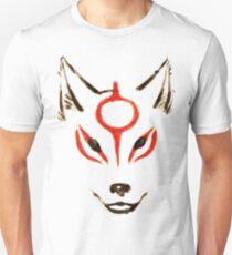 Okami - Amaterasu Head Outline T-Shirt
