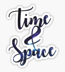 Space&Time - Galaxy Reverse Sticker