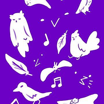 bert (purple, vibrant) by TempusVernum