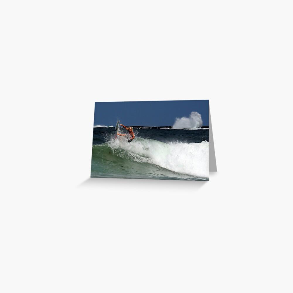 Iluka Surfer #2 Greeting Card