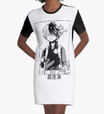 Todoroki Shōto Graphic T-Shirt Dress