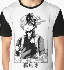 Todoroki Shōto Graphic T-Shirt