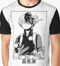 Todoroki Shōto Grafik T-Shirt