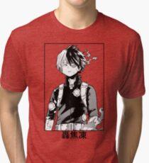 Todoroki Shōto Tri-blend T-Shirt