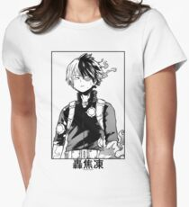 Todoroki Shōto Women's Fitted T-Shirt
