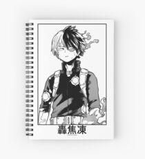 Todoroki Shōto Spiral Notebook