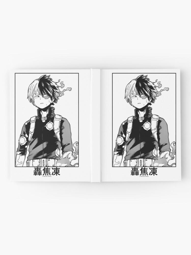 Alternate view of Todoroki Shōto Hardcover Journal