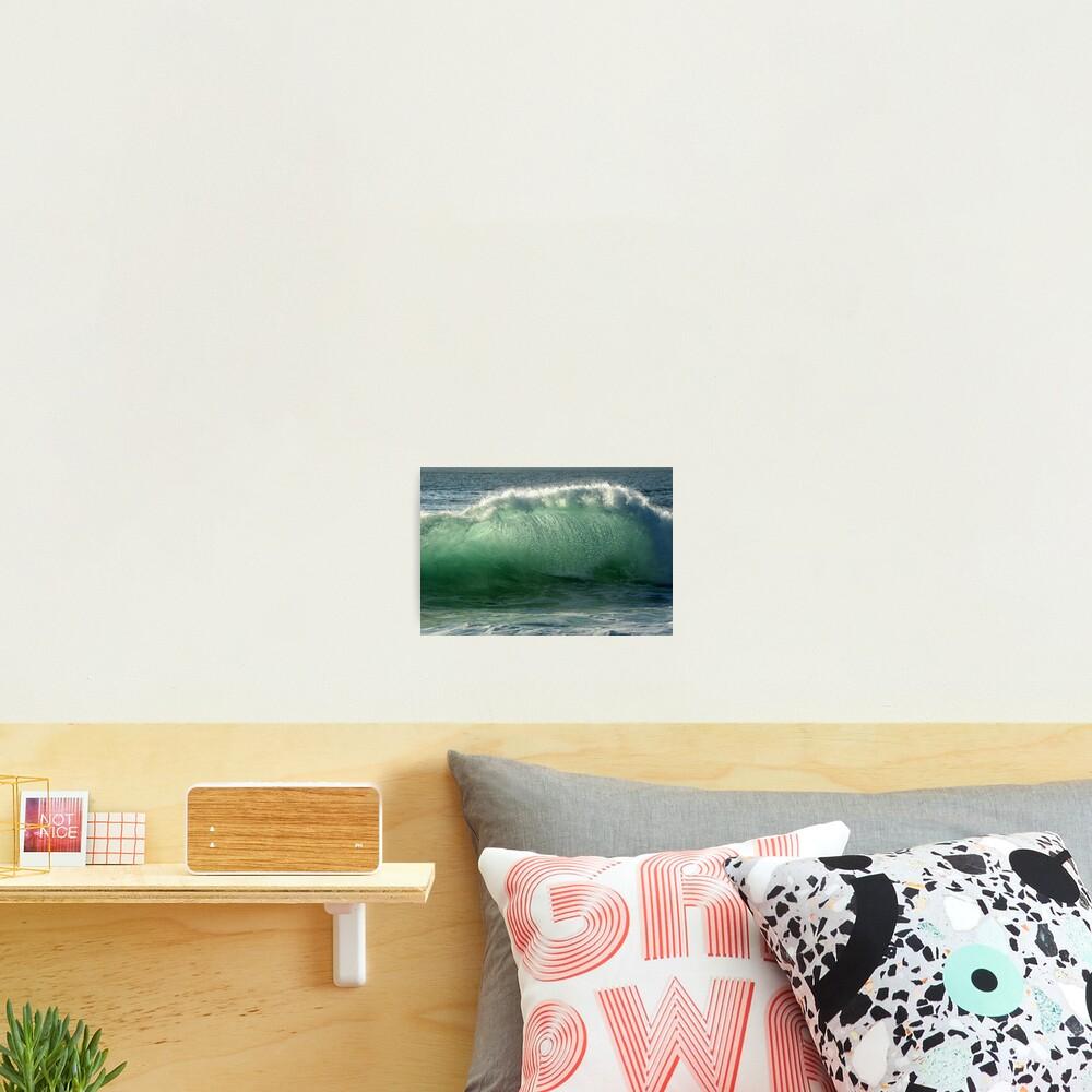 Backlit Wave Photographic Print