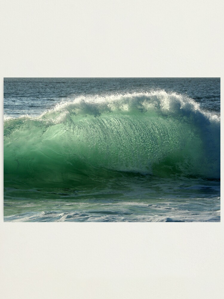 Alternate view of Backlit Wave Photographic Print