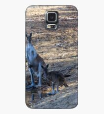 Mob At The Old Mill Dam Case/Skin for Samsung Galaxy