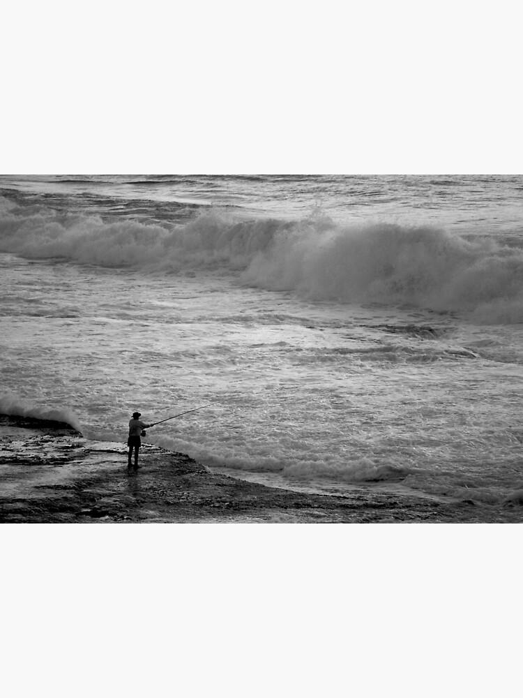 Rock Fisherman by theoddshot
