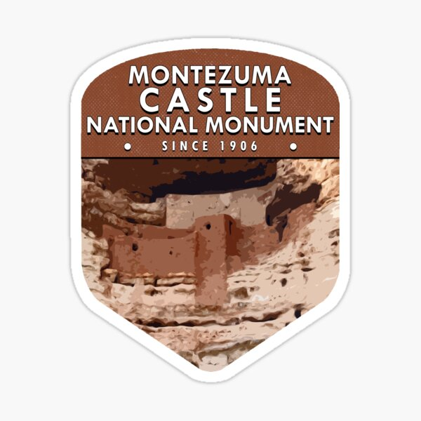 Montezuma Castle National Monument Sticker