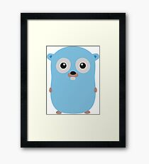 Golang Gopher - The Go Programming Language Framed Print