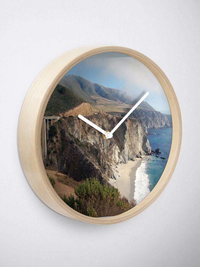 Alternate view of Coastal Fog Lifting Clock
