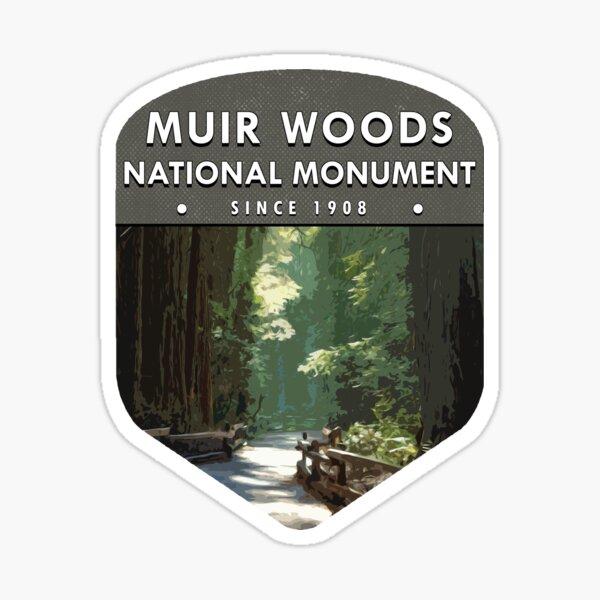 Muir Woods National Monument Sticker