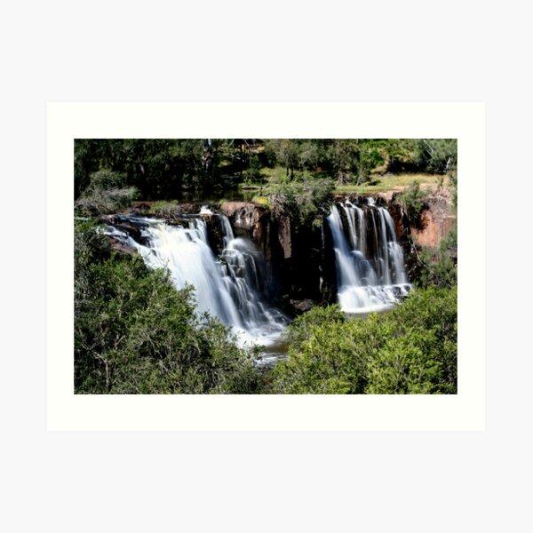Tooloom Falls Art Print