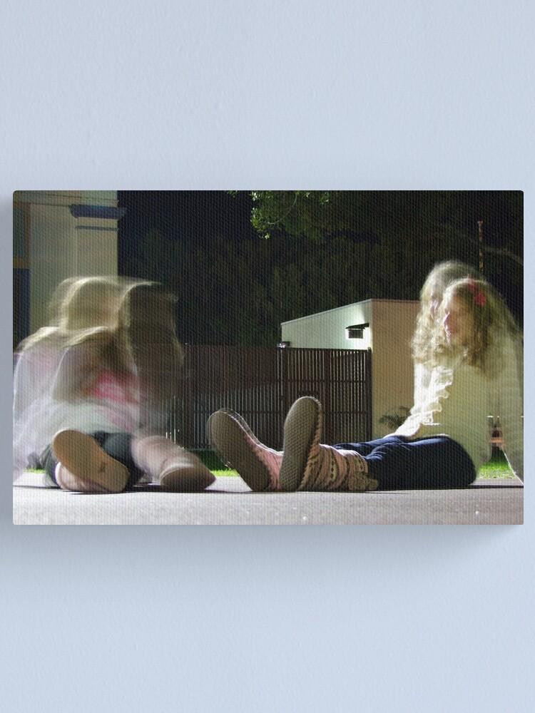 Alternate view of Girl Talk Canvas Print