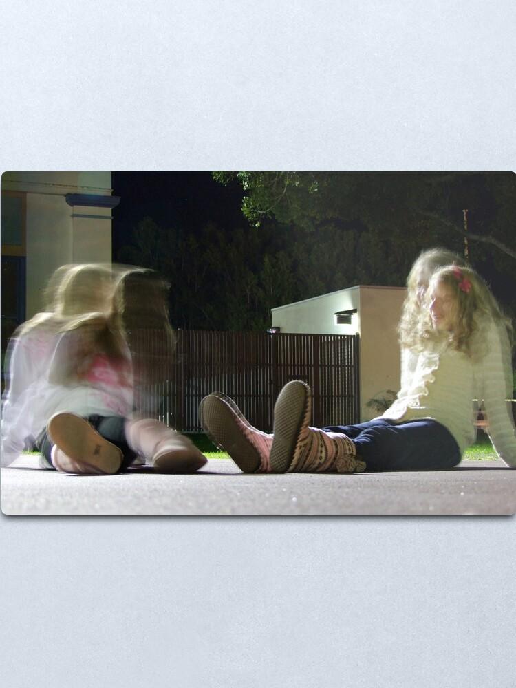 Alternate view of Girl Talk Metal Print