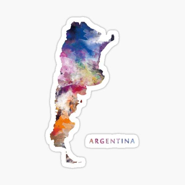 Mapa de Argentina Pegatina